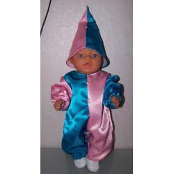 clownspak roze blauw baby...