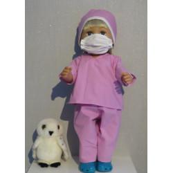 dokters set oud roze baby...