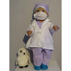 dokters set lila baby born...