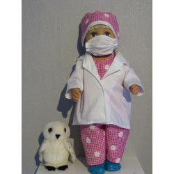dokters set hard roze baby...