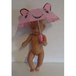 paraplu roze