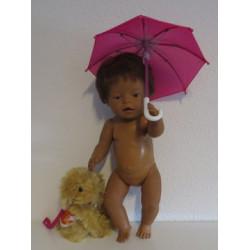 paraplu hard roze