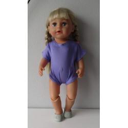 romper lila baby born 43cm