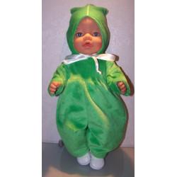 slobpak groen baby born 43cm