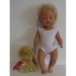 badpak wit baby born 43cm