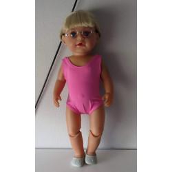 badpak roze baby born 43cm