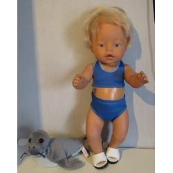 bikini midden blauw baby...