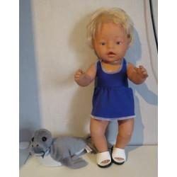 tankini hard blauw baby...