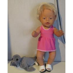 tankini roze baby born 43cm