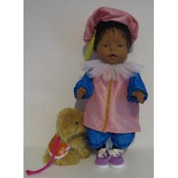 pietpak baby born 43cm