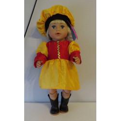 pietjurk geel met rood baby...