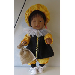 pietpak geel baby born 43cm