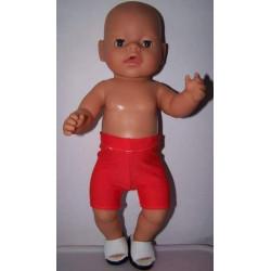zwemboxer rood baby born 43cm