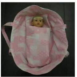 rok eend poppenmaat 32cm