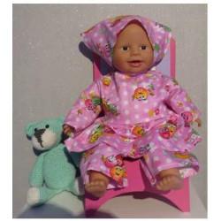hippejurk roze mm's babypop...