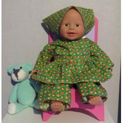 hippejurk groen  babypop...