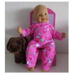 pyjama roze snoopy babypop...