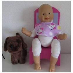 slab lila hondjes babypop...