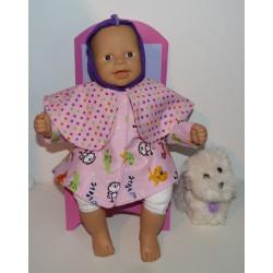 capejas roze dieren babypop...