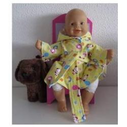 badjas geel panda babypop...
