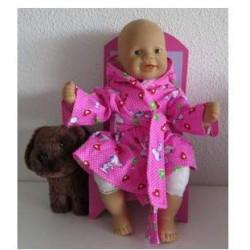 badjas roze snoopy babypop...