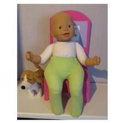 maillot groen babypop 36/38cm