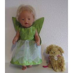 elvenjurk groen baby born 43cm