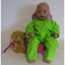 slobpak groen babypop 46/48cm