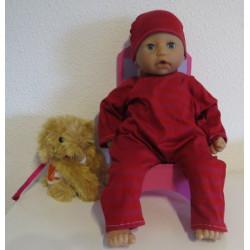 slobpak rood babypop 46/48cm