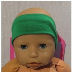 haarband groen  babypop...