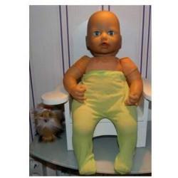 maillot groen babypop 46/48cm