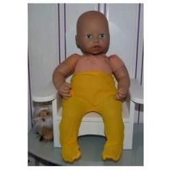 maillot geel babypop 46/48cm