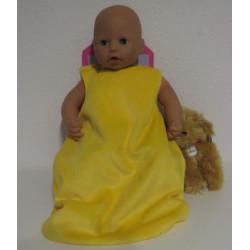 slaapzak geel babypop 46/48cm
