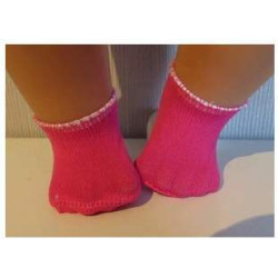 sokjes hard roze voor...