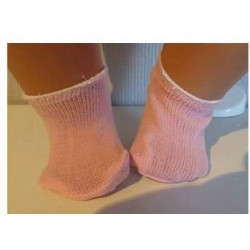 sokjes roze voor poppen van...
