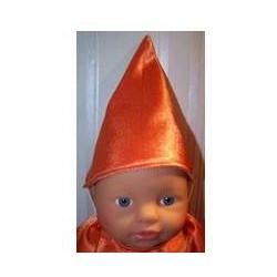 puntmuts oranje little baby...