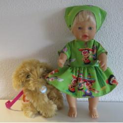 jurk groen joki little baby...