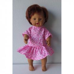 jurk roze bloemetjes little...