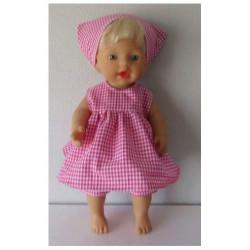 jas roze meisje poppenmaat...