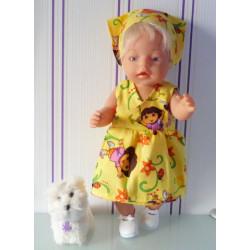 strandjurk dora geel baby...