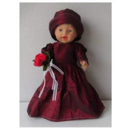 trouwjurk rood little baby...