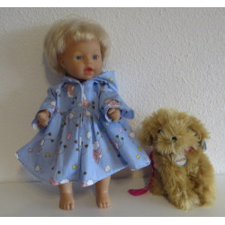 ballonjas blauw schapen...