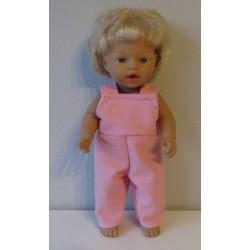 tuinbroek roze little baby...