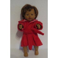 badjas rood little baby...