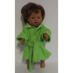 badjas groen little baby...