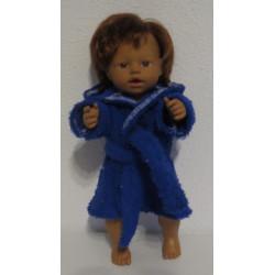 badjas blauw little baby...