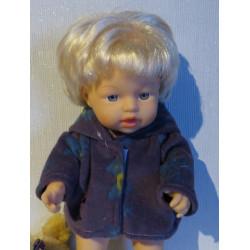 winterjas paars little baby...