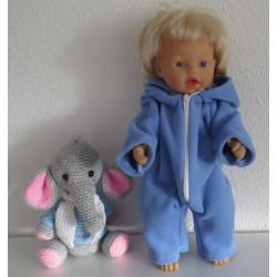 winterpak blauw little baby...