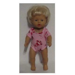 baby doll setje rood met...