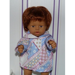 jas blauw roze little baby...